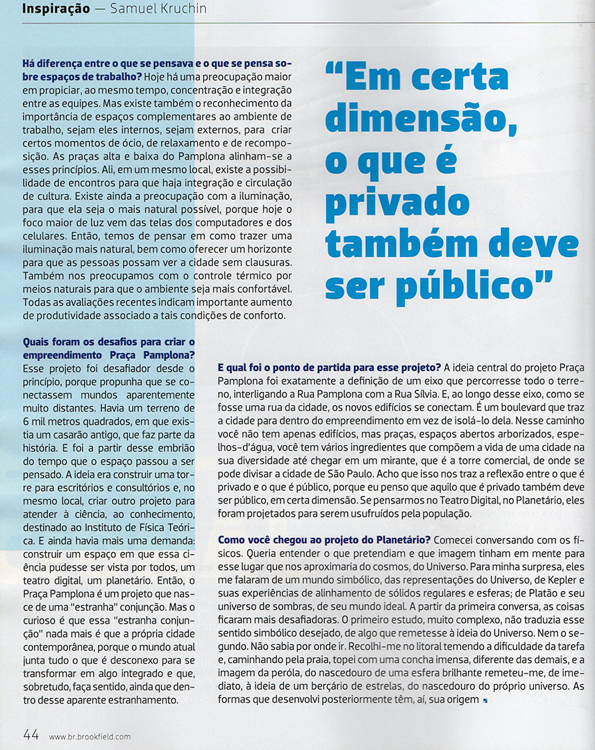 Revista Brookfield